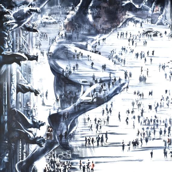 """""""Milano Piazza Duomo"""" di Lazzaro Fornoni"""