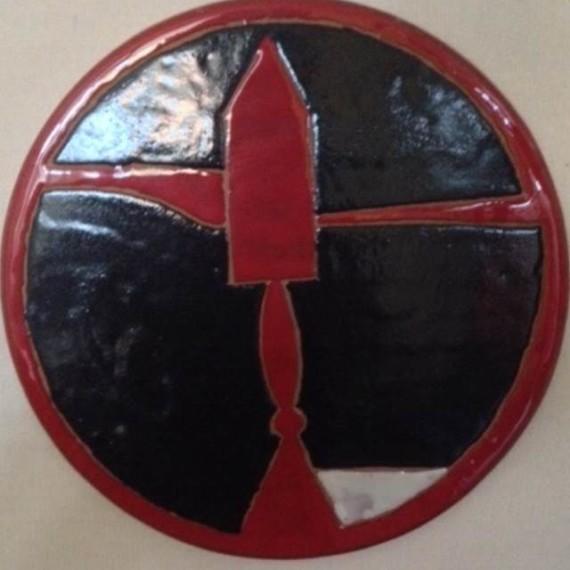 Caffettiera rossa e nera - Pietro Lista