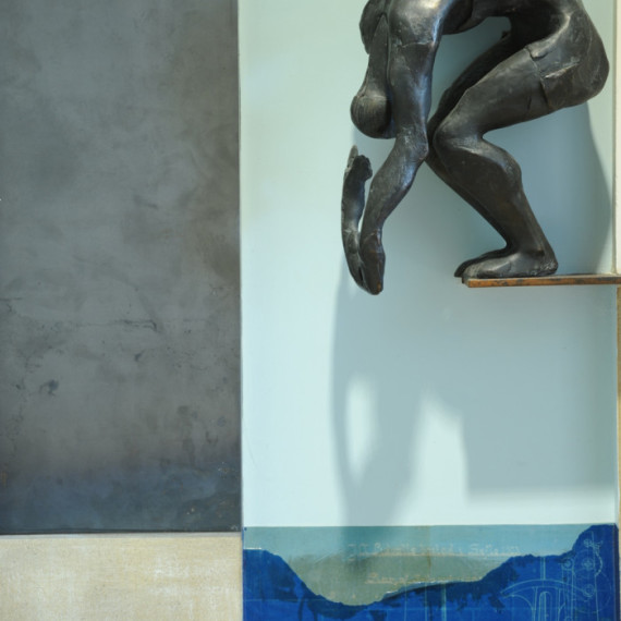 Il tuffatore (porta) - Viveka Assembergs