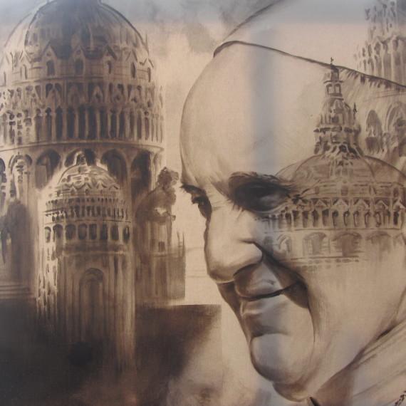 Papa Francesco - Lazzaro by Fornoni