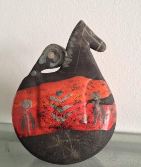 Cavallo a dondolo - Massimo Boi